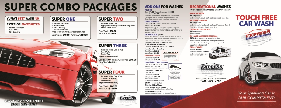 Express Yuma Packages